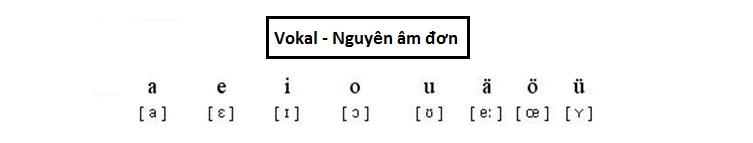 Bảng chữ cái tiếng Đức và cách phát âm dễ hiểu