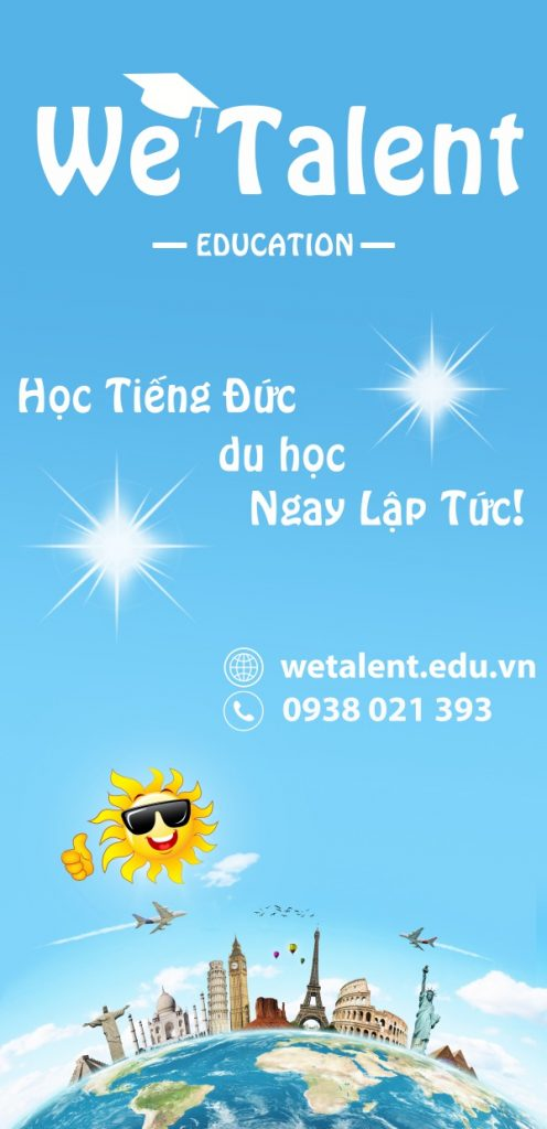 Du Học Đức cùng We Talent Education