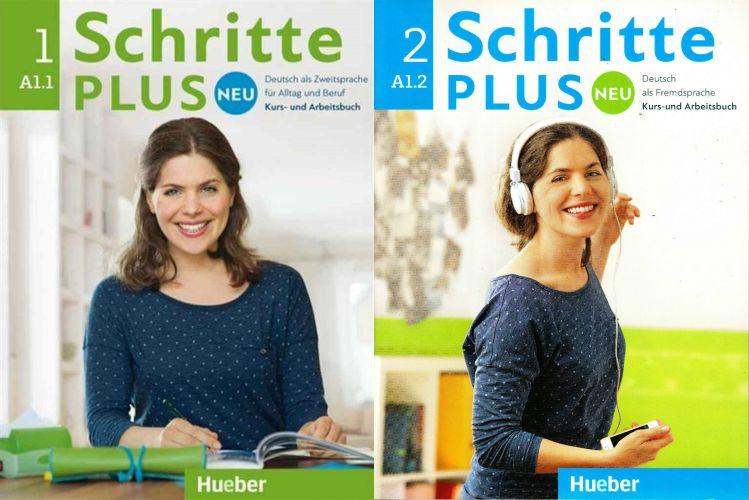 sách học tiếng Đức A1 Schritte