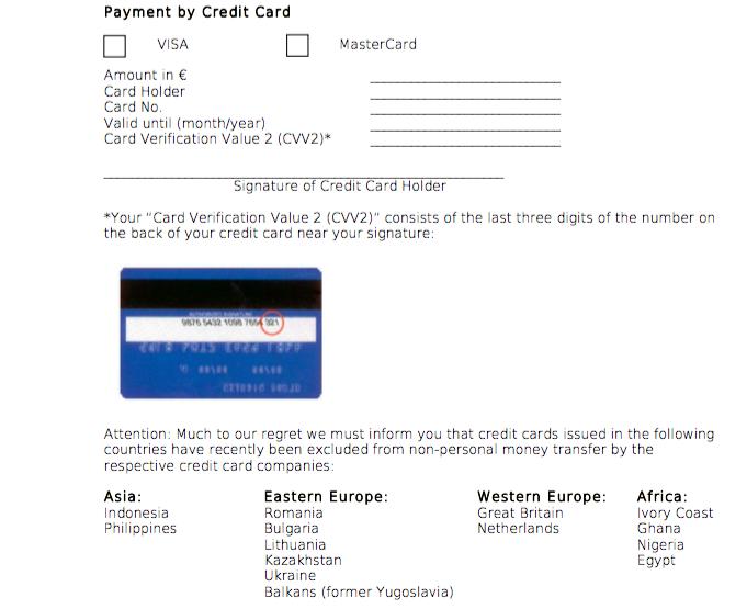 đơn thanh toán lệ phí uni assist