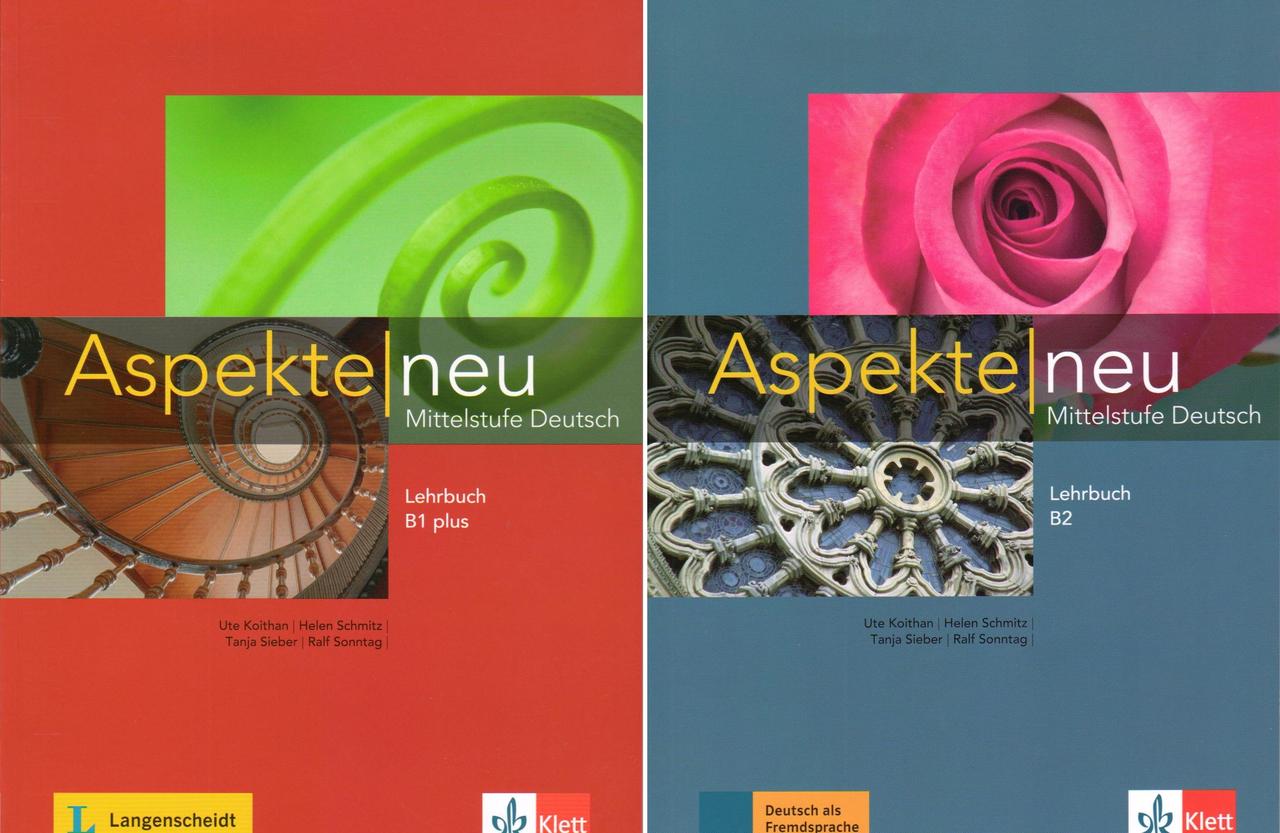 Sách tiếng Đức Aspekte B1-B2