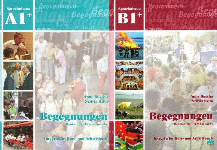 Sách tiếng Đức Begegnung A1+ A2+ B1+