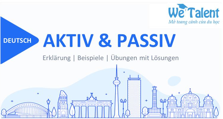 Câu bị động trong tiếng Đức - Passiv Deutsch