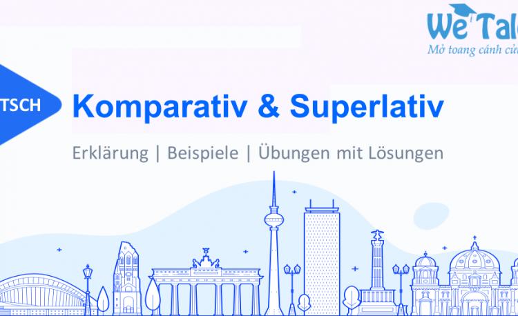 So sánh hơn và so sánh nhất trong tiếng Đức