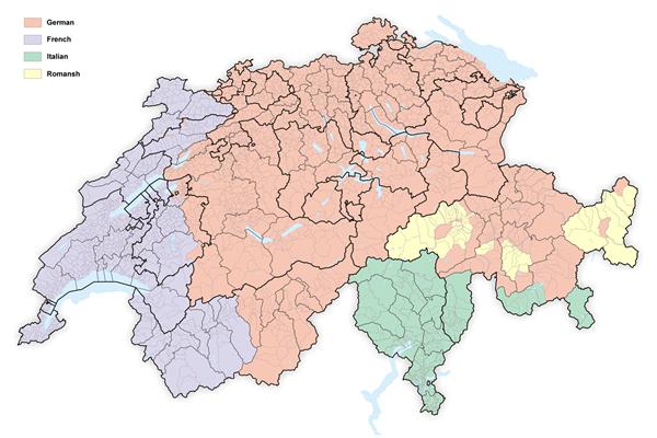 Thụy Sĩ nói tiếng gì