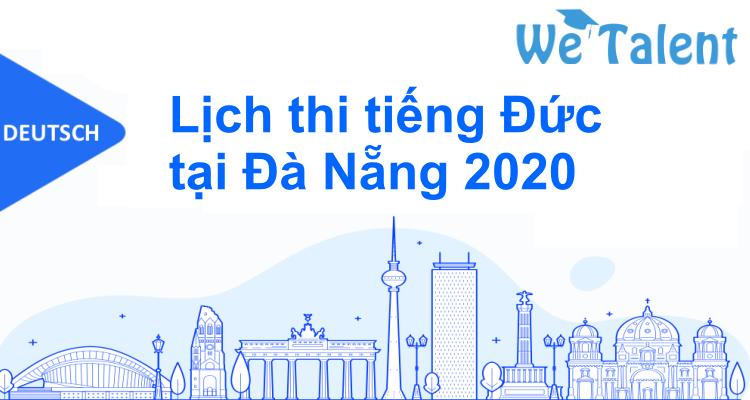 Lịch thi tiếng Đức tại Đà Nẵng 2020