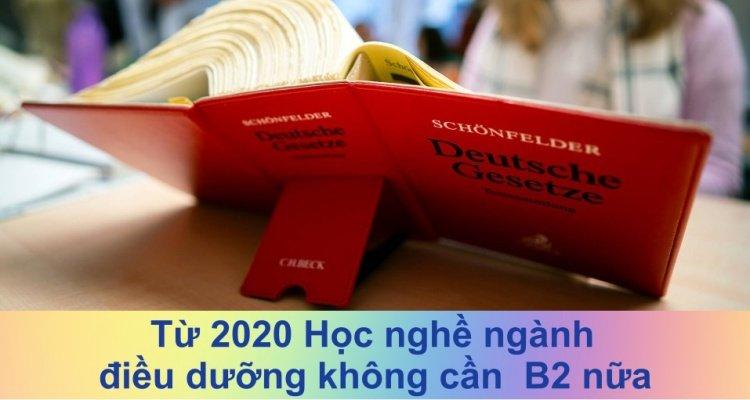 Đại sứ quán Đức miễn bằng B2 du học nghề điều dưỡng từ 2020