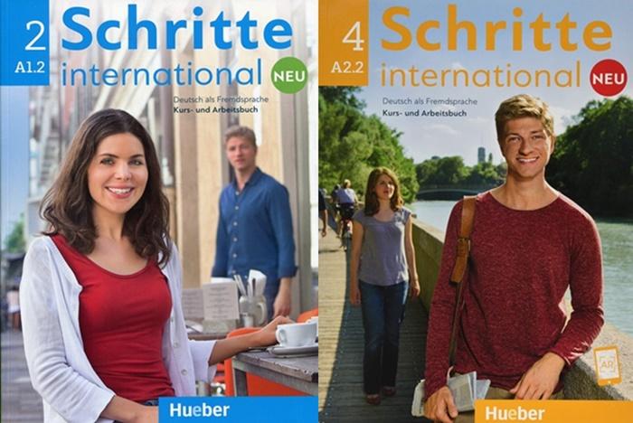 Sách tiếng Đức Schritte Inernational Neu