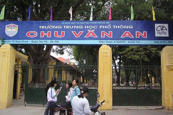 Danh sách các trường cấp 2 và cấp 3 dạy tiếng Đức ở Việt Nam THPT Chu Văn An