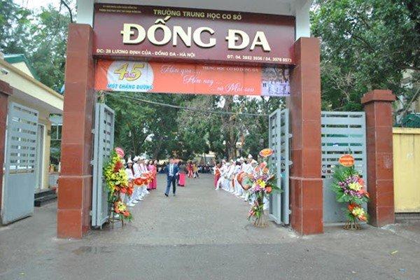 Danh sách các trường cấp 2 và cấp 3 dạy tiếng Đức ở Việt Nam THCS Đống Đa