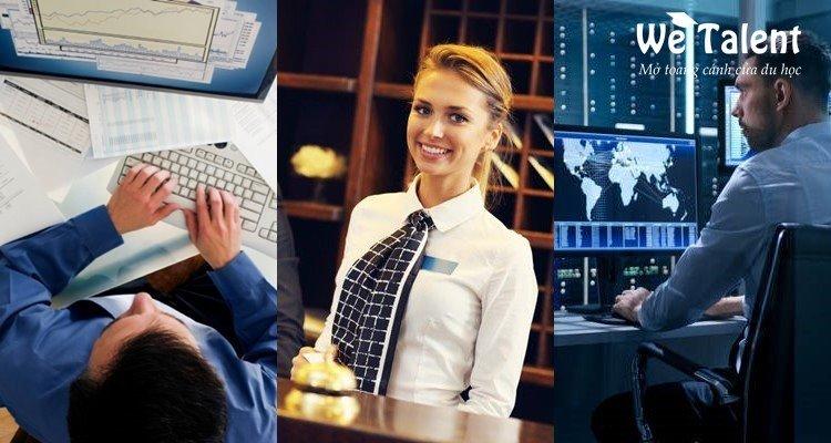 du học đức nên chọn ngành nào? Kinh tế - dịch vụ nhà hàng và công nghệ thông tin
