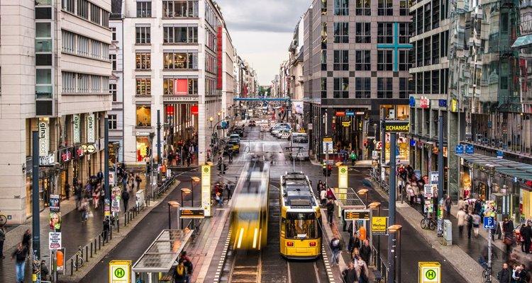 Giao thông ở thành phố Berlin - Đức