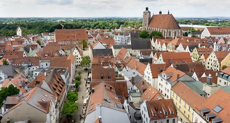phong cách cổ điển phố cổ Ingolstadt