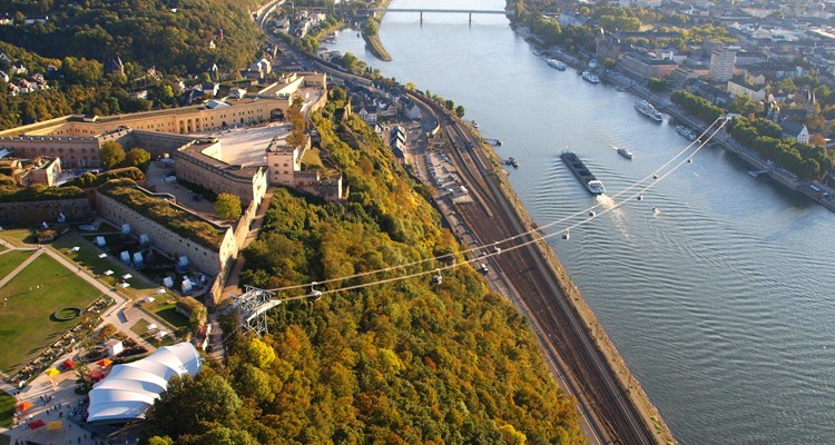 Seilbahn Koblenz thành phố Koblenz