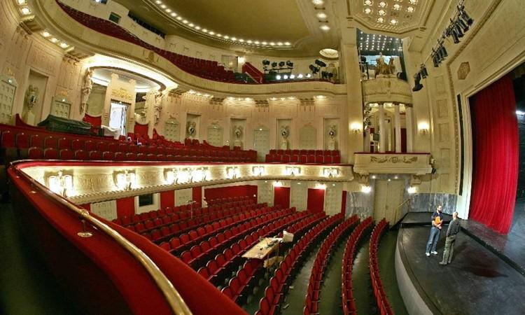 Khám phá thành phố Cottbus nhà hát Cottbus