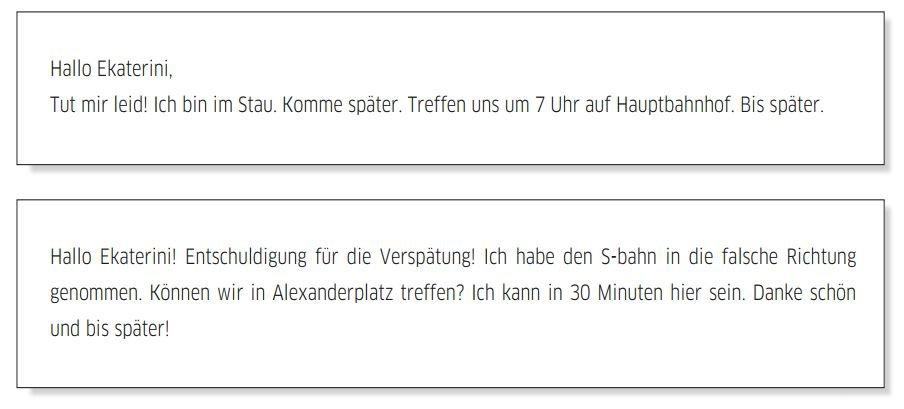 Cách viết thư tiếng Đức A2 và đề thi viết A2 mẫu