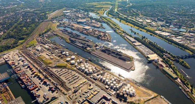 cảng Duisburg