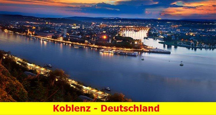 Khám phá thành phố Koblenz - thành phố di sản ở Đức