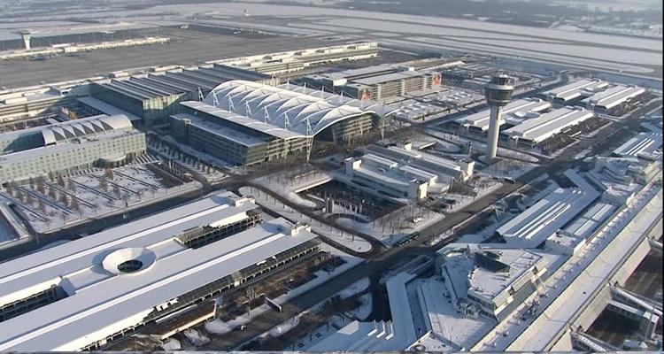 Hướng dẫn cách di chuyển đến sân bay Munich của Đức