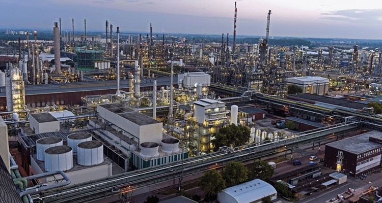 thành phố Ludwigshafen ở Đức BASF