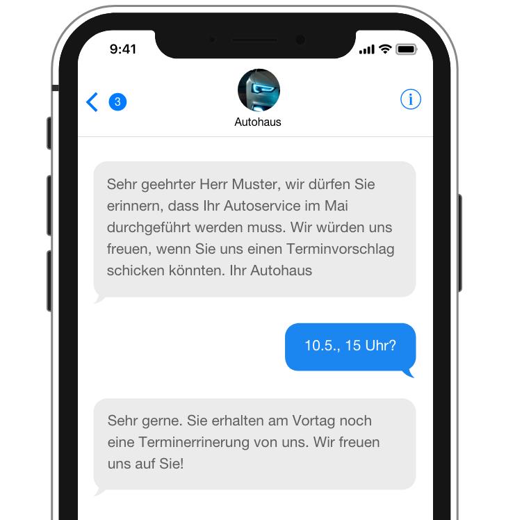 viết thư tiếng Đức A2 sms