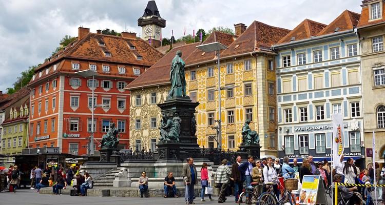 Khám phá thành phố Graz của Áo từ A-Z