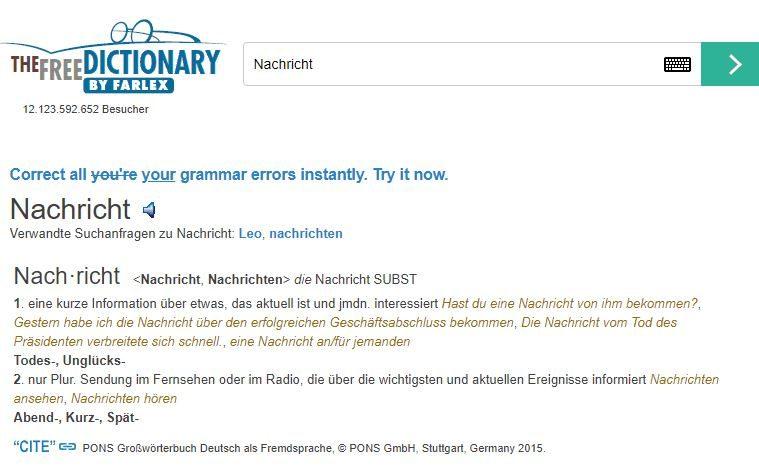 Top 3 từ điển Đức - Đức tốt nhất