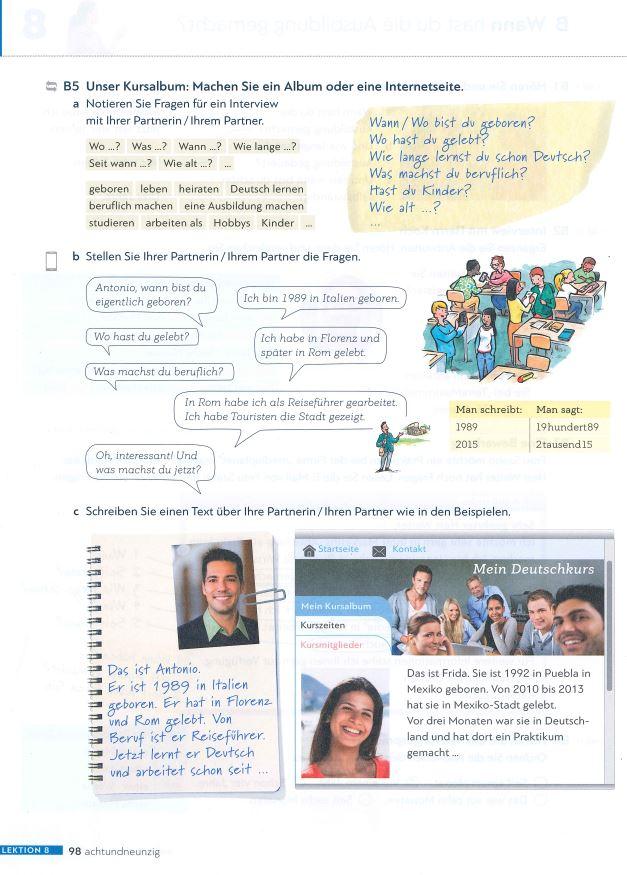 Sách tự học tiếng Đức Schritte International Neu A1 A2 B1