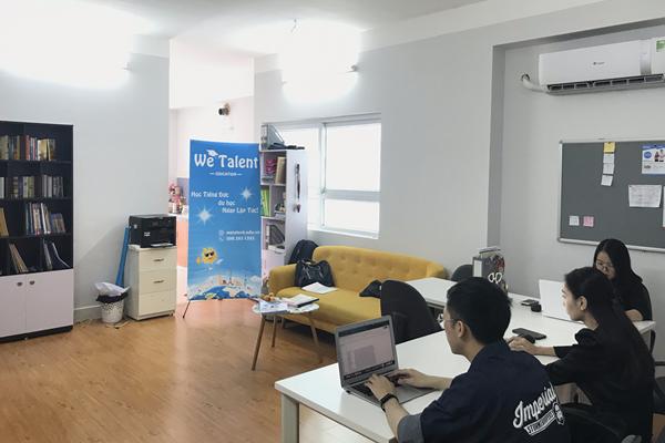 Văn phòng cầu giấy we talent education
