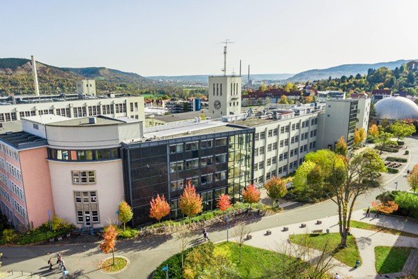 Khám phá thành phố Jena ở Đức từ A-Z Ernst-Abbe-Hochschule Jena
