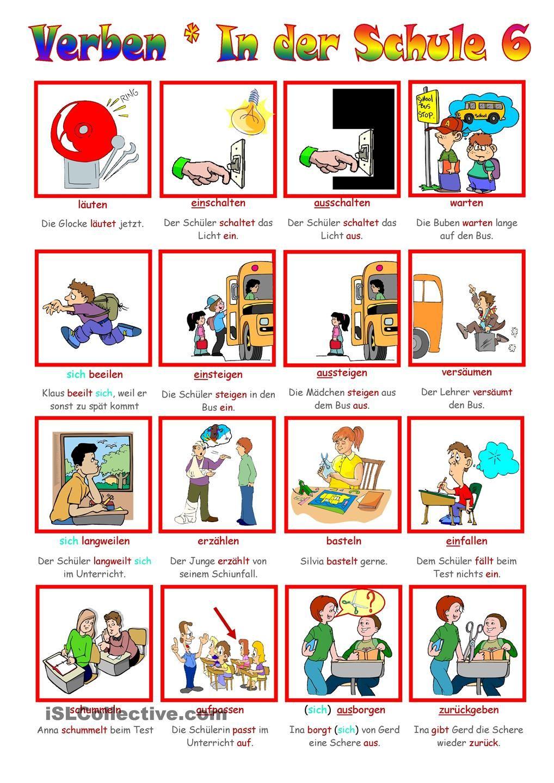 List Từ vựng tiếng Đức chủ đề trường học đầy đủ nhất