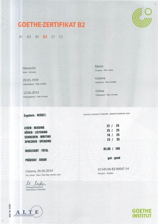 Lịch thi viện Goethe Hà Nội 2021 các trình độ A1-C1