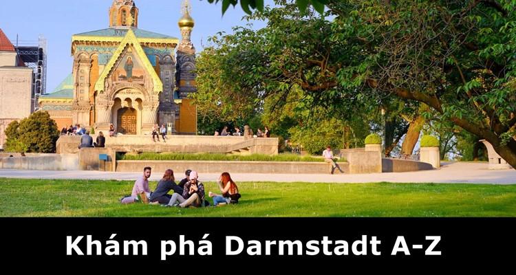 10 phút khám phá thành phố Darmstadt ở Đức