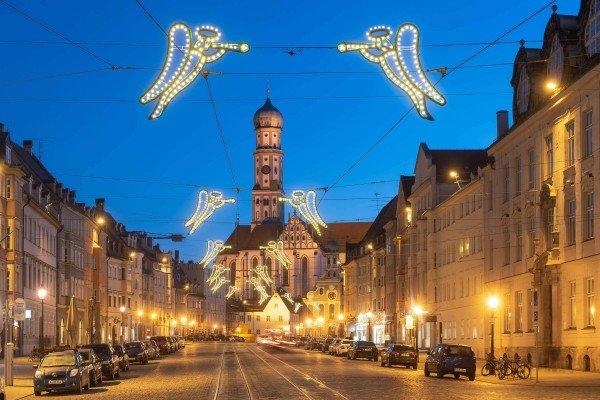 Khám phá thành phố Augsburg từ A-Z giáng sinh