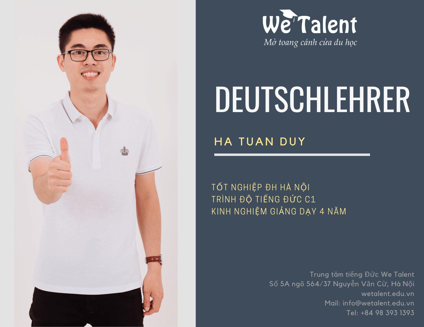 đội ngũ giáo viên tại we talent