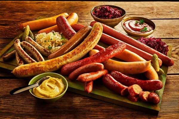 nước Đức có đồ ăn gì nổi tiếng?